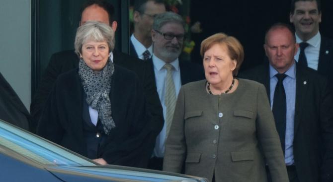 Германската канцлерка Ангела Меркел смята за възможно британското напускане на