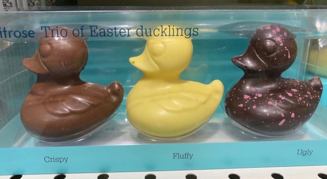 Обвиниха супермаркет в расизъм заради шоколадови патенца