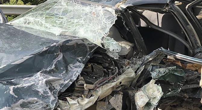 Баща и син загинаха в жестока катастрофа край Исперих