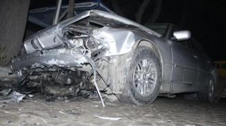 18-годишен шофьор помете четири паркирани коли
