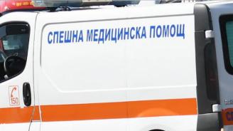 Мъж пострада при катастрофа на Е-79