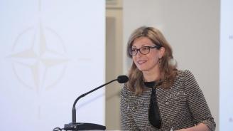 Захариева: Разширяването на НАТО не бива да спира