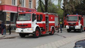 Горя заведение за бързо хранене в Хасково