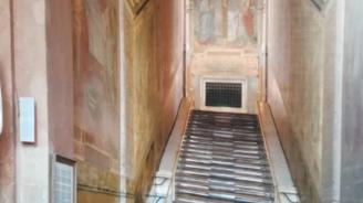 Светите стъпала, по които е преминал Исус Христос, бяха отново открити за публиката в Рим