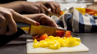 """Австралийка наряза зеленчуци за готвене """"за цяла година"""""""