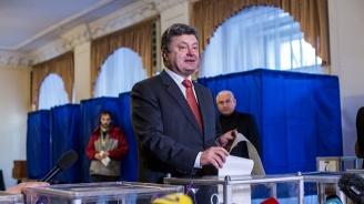 Порошенко обеща да признае резултата от президентските избори в Украйна
