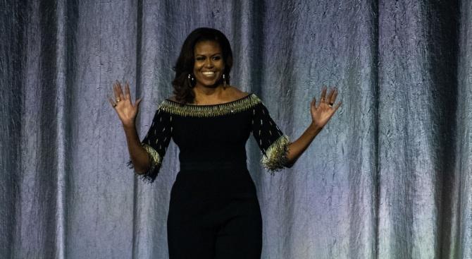 Мишел Обама представи автобиографията си в Лондон