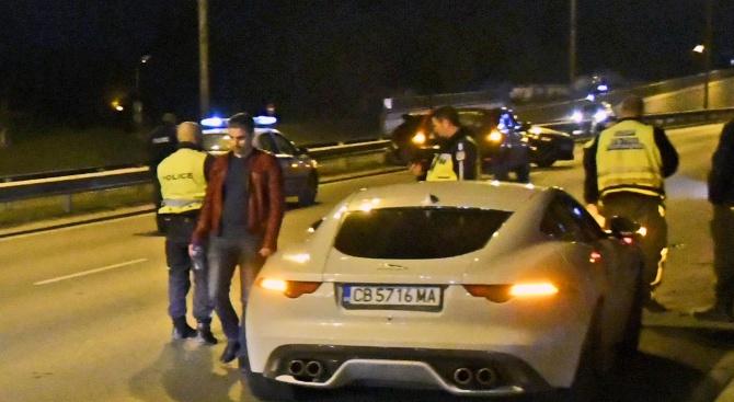 Катастрофа с 4 автомобила затвори Околовръстното