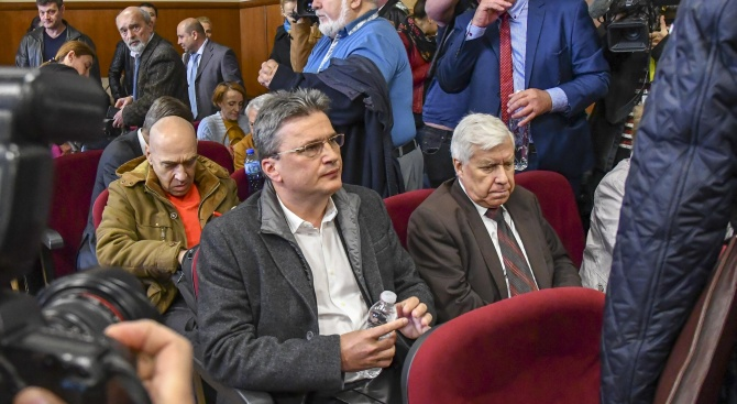 Снимка: Продължава изслушването на основния свидетел по делото КТБ