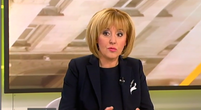 Мая Манолова: Партийни листи не коментирам