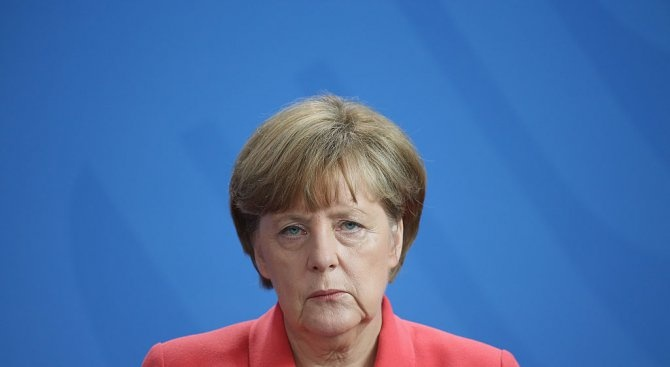 """Германската канцлерка Ангела Меркел изрази днес """"тъга и шок"""" от"""