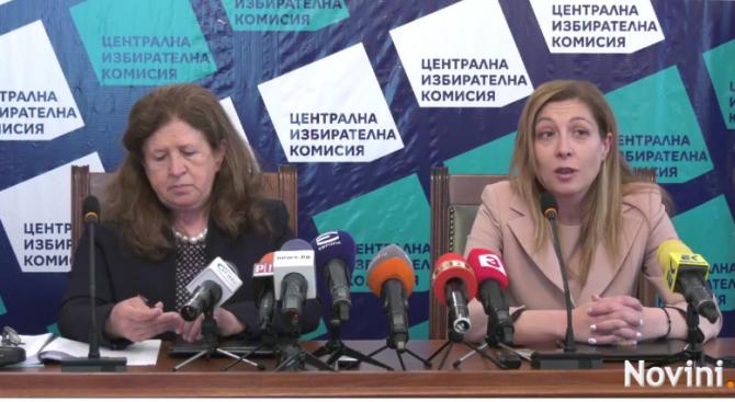 Централната избирателна комисия и Съветът за електронни медии подписаха споразумение