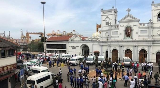 6-има българи са били в един от взривените хотели в Шри Ланка