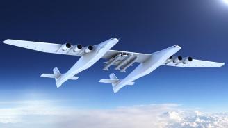 Полетя най-големият самолет в света