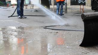 Започва пролетното  миене на улици в Перник