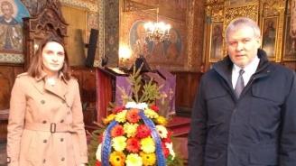 """Румен Христов почете паметта на загиналите в  кървавия атентат в храма """"Света Неделя"""" през 1925 година"""