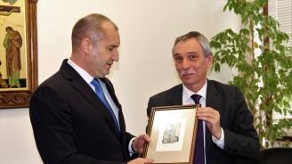 Президентът Румен Радев посети Великотърновския университет