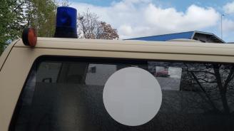 Тийнейджър със счупена ръка след катастрофа с македонски шофьор в Кюстендил