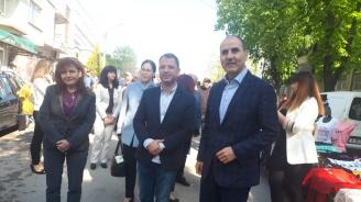 Цветанов: Икономическото развитие и ниската безработица в Симеоновград допринасят и за по-ефективната интеграция на малцинствените групи