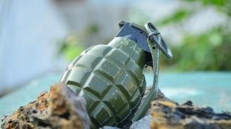 Военнослужещи от Сухопътните войски унищожиха невзривена граната в Благоевград