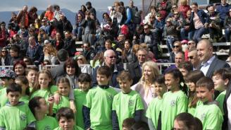 Румен Радев: Спортът e важен фактор за преодоляване на агресията в училище