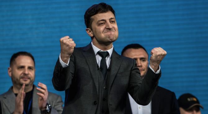 Новият президент на Украйна разкри приоритетите си