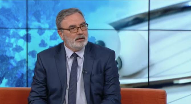 Д-р Ангел Кунчев: 460 са болните от морбили у нас, 20 от тях са служители на болници