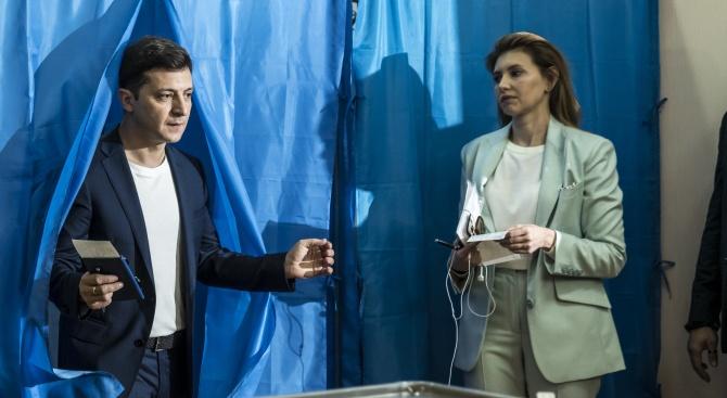 Новата първа дама на Украйна: Страх ме е от известността
