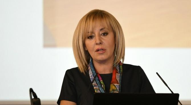 Омбудсманът Мая Манолова предостави 500 пакета с хранителни продукти, събрани