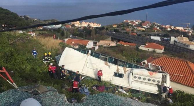 Оцелелите немски туристи от катастрофата на остров Мадейра се възстановяват в Германия
