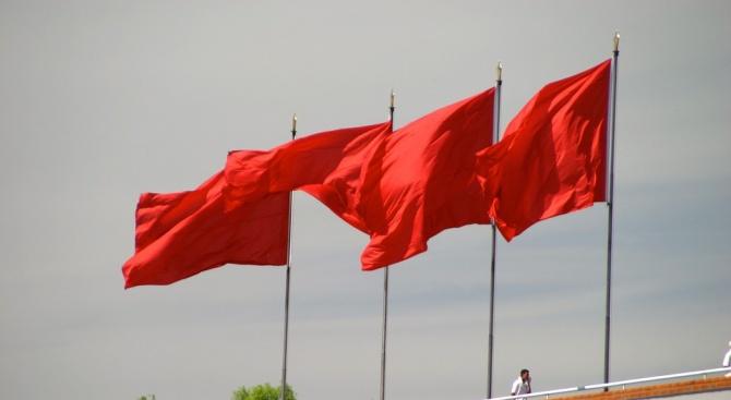 """Китайските военноморски сили искат """"спокойствие и добър ред"""", заяви техният"""