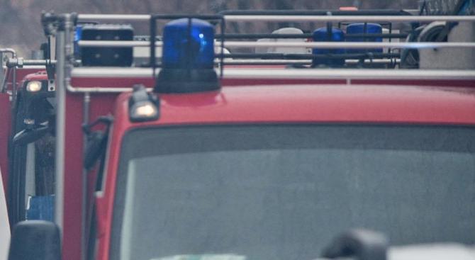 Пожар в пловдивско училище