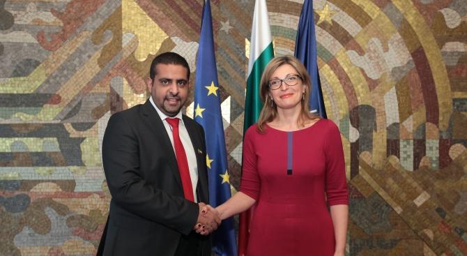 Снимка: Екатерина Захариева: Имаме огромни възможности за развитие на бизнеса и туризма с Кувейт