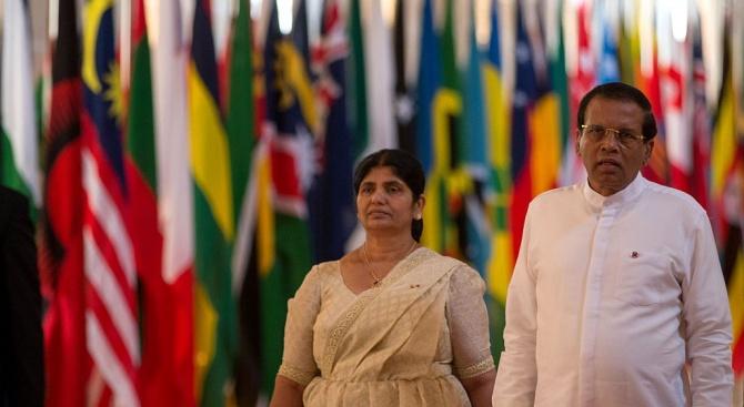 Снимка: Президентът на Шри Ланка обеща пълно преструктуриране на полицията