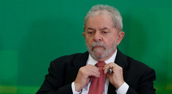 Бразилският Върховен съд намалис 4 г. присъдата затворна бившия президент Лула да Силва