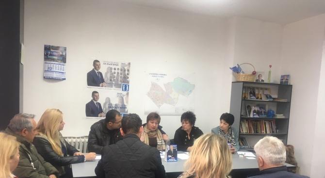 Предизборният щаб на ГЕРБ-Слатина проведе регулярна среща