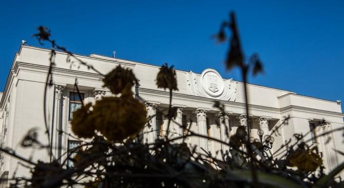 Парламентът в Киев прие днес предизвикал полемика закон, който има