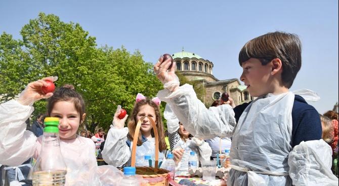 В деня на Велики четвъртък 250 деца от столични училища