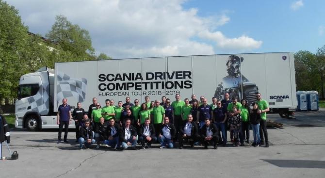 Петър Иванов спечели българския финал на състезанието Scania Driver Competition