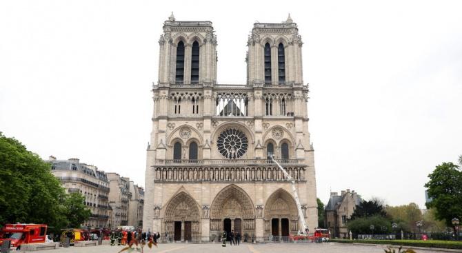 """Резистентността на структурата на катедралата """"Нотр Дам"""" в Париж към"""
