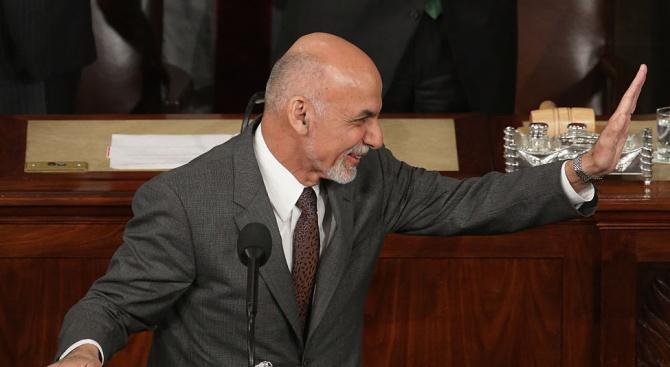 Президентът Ашраф Гани откри първото заседание на новия парламент на