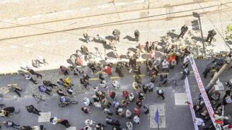 Протест пред КЕВР срещу увеличаването на цените на енергоносителите