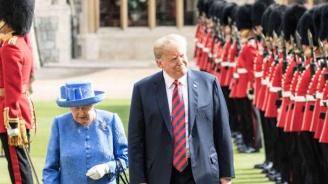 Елизабет II покани Доналд Тръмп във Великобритания. Той прие