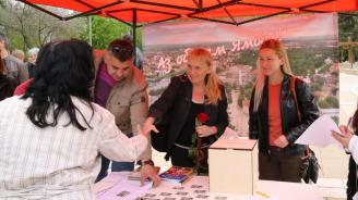Елена Йончева проведе открита приемна с жители на Ямбол