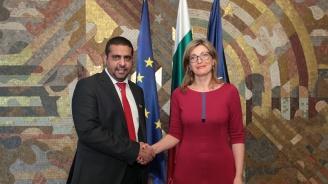 Екатерина Захариева: Имаме огромни възможности за развитие на бизнеса и туризма с Кувейт