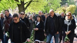 Стотици изпратиха легендата на ЦСКА Красимир Безински