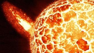 """Астрономи регистрираха """"дъжд от плазма"""" на Слънцето"""
