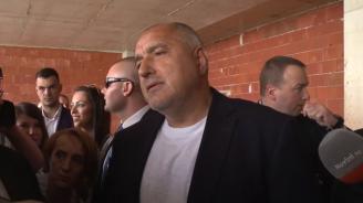 Бойко Борисов: Не можем да го оставим този строеж да стои като паметник на културата