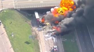 Тежка верижна катастрофа в САЩ, има загинали и ранени