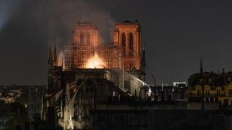 Нова опасност след пожара в Нотр Дам